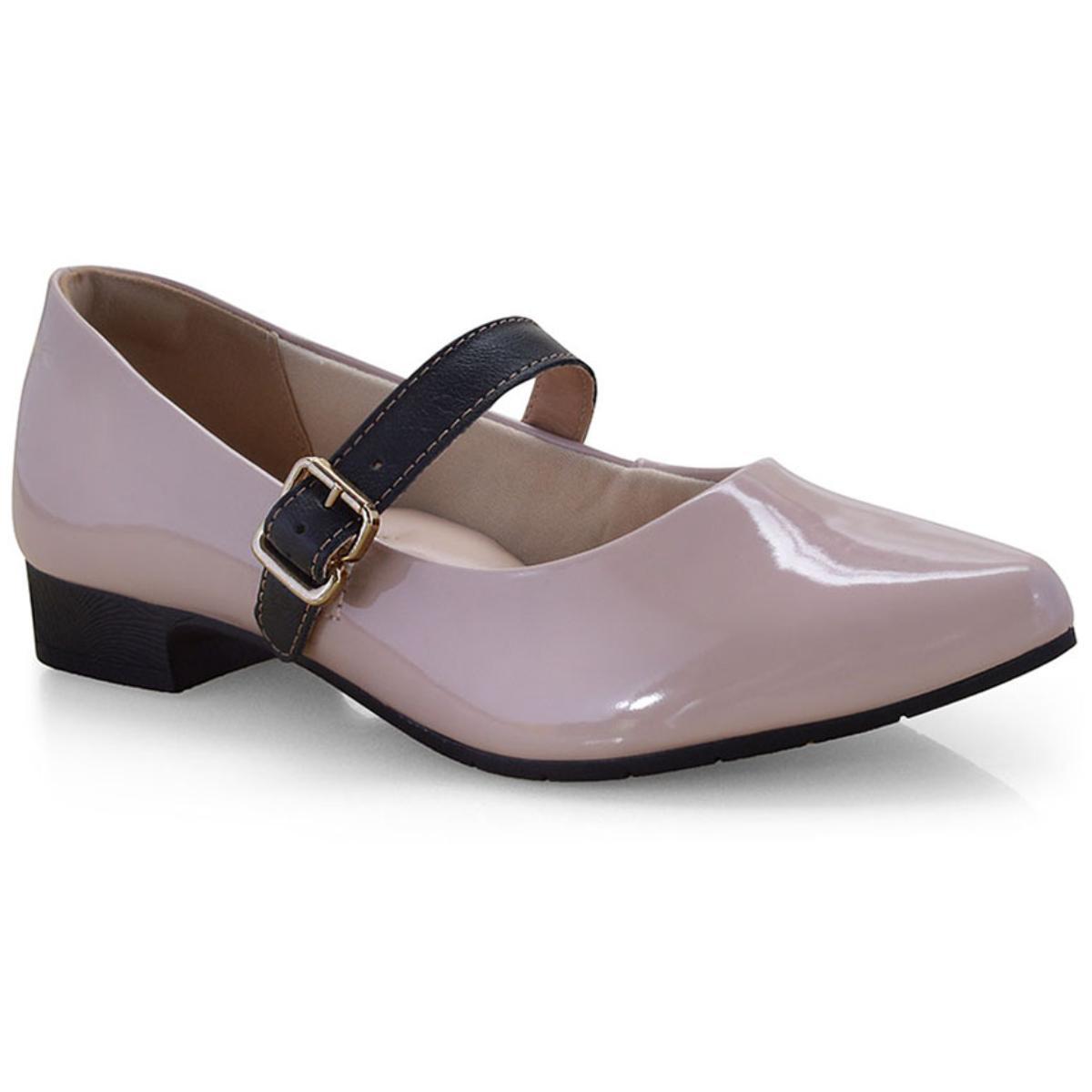 Sapato Feminino Campesi L6523 Blush/preto