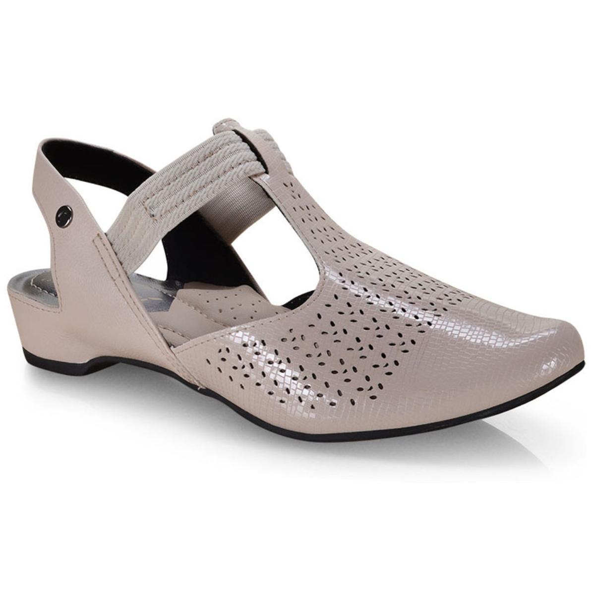 Sapato Feminino Campesi L6894 Creme