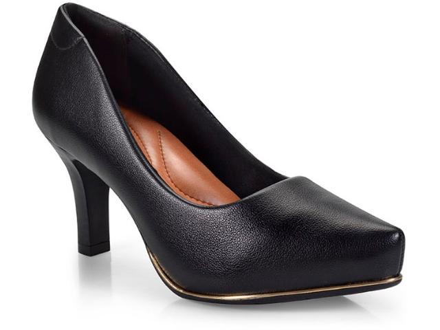 Sapato Feminino Comfortflex 17-85401 Preto