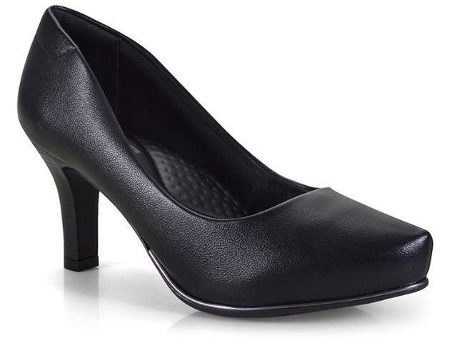 Sapato Feminino Comfortflex 18-85301 Preto