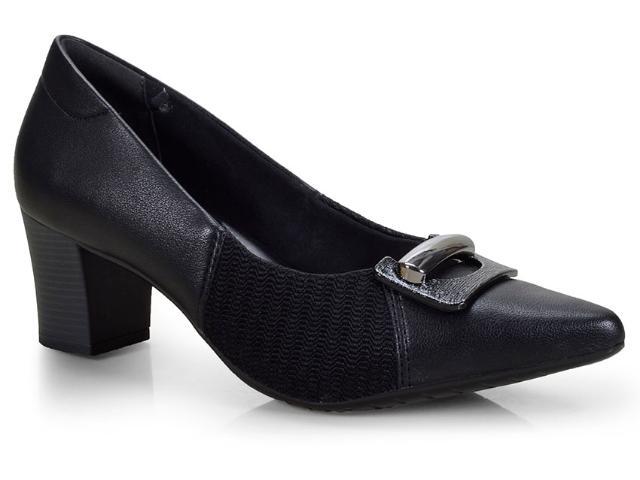 Sapato Feminino Comfortflex 18-81406 Preto