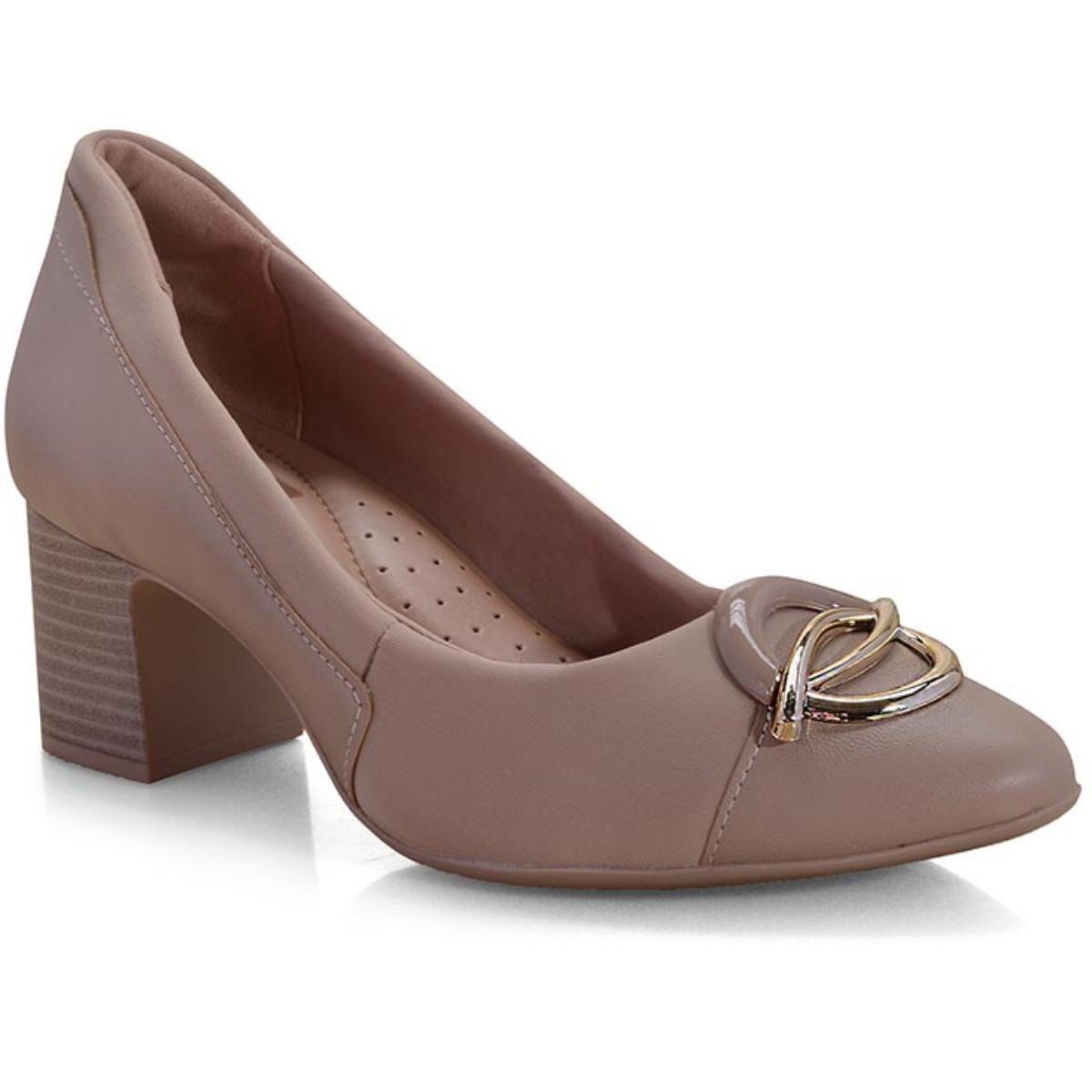 Sapato Feminino Comfortflex 19-54305 Avelã