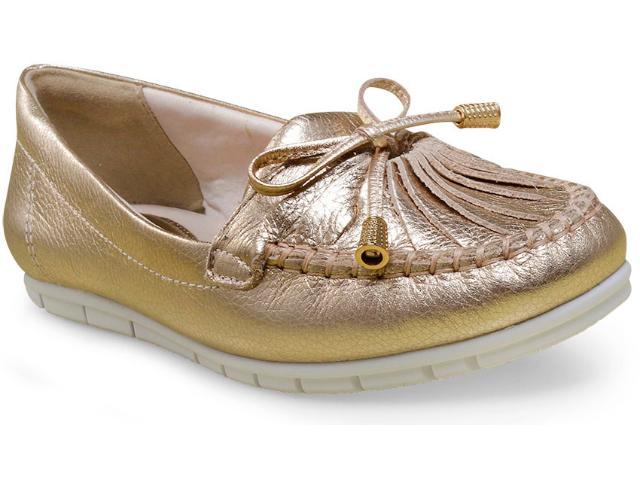 Sapato Feminino Comfortflex 17-73305 Ouro