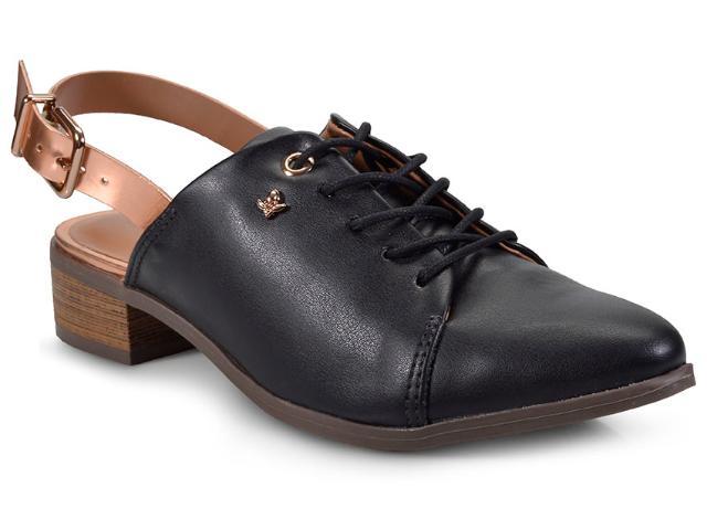 Sapato Feminino Cravo e Canela 152602/2 Preto/cobre