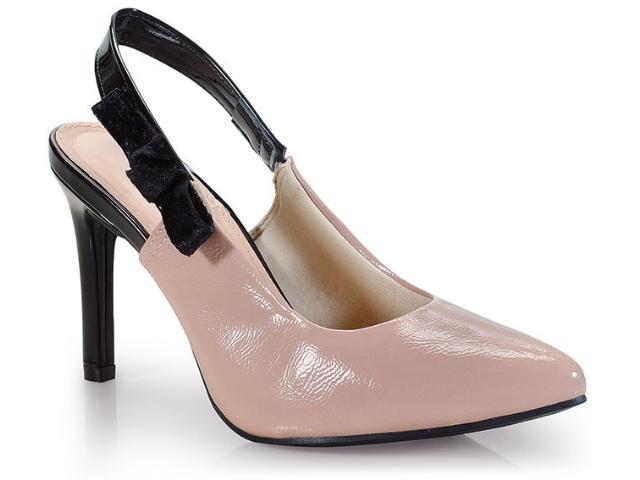 Sapato Feminino Dakota B9813 Noz/preto