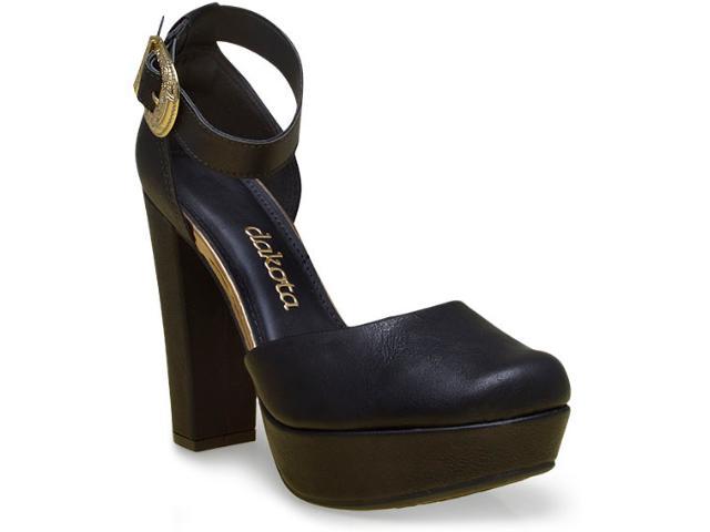Sapato Feminino Dakota 7791 Preto