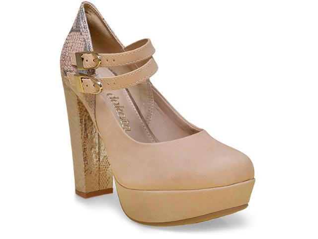 Sapato Feminino Dakota 7792 Natural