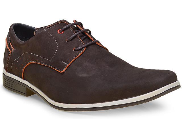 Sapato Masculino Fegalli 21015 Café