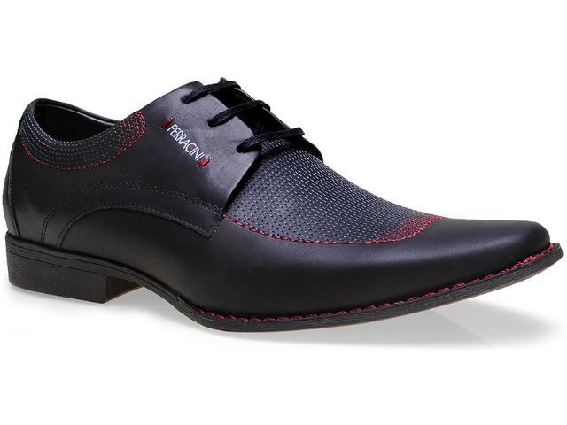 Sapato Masculino Ferracini 3851 Cosmo Preto