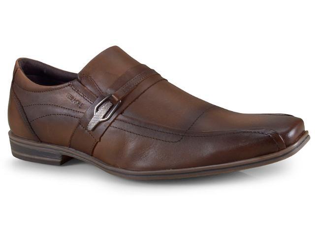 Sapato Masculino Ferracini 6048-273l Conhaque