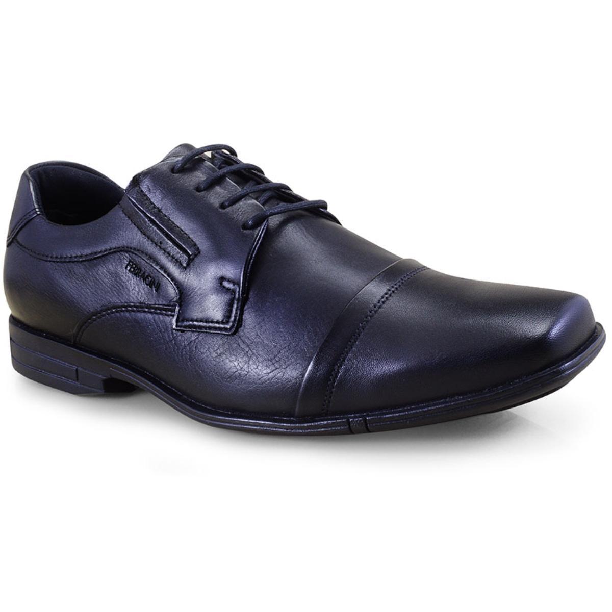 Sapato Masculino Ferracini 3166-220g Preto