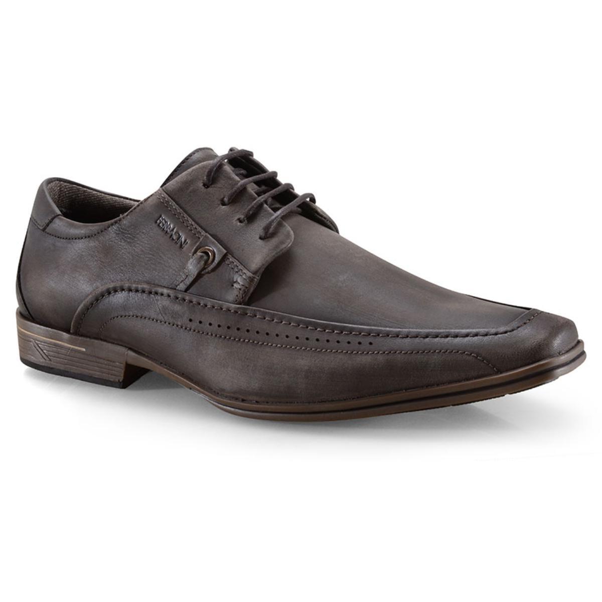 Sapato Masculino Ferracini 3041-281j Chocolate
