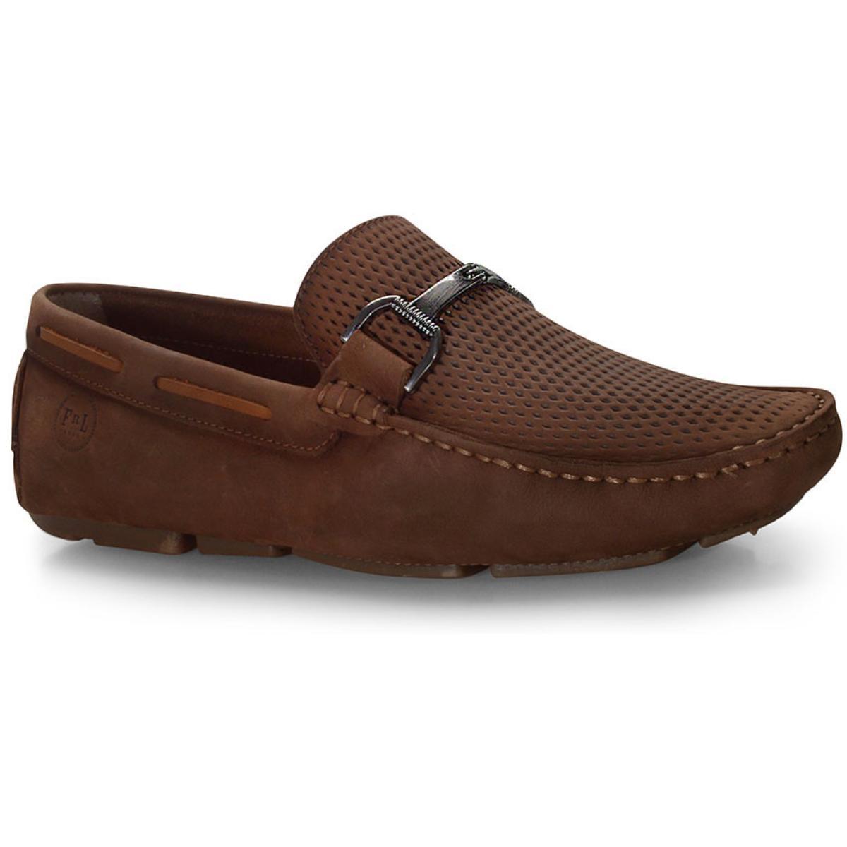 Sapato Masculino Ferricelli Lx40177 Terra/camel