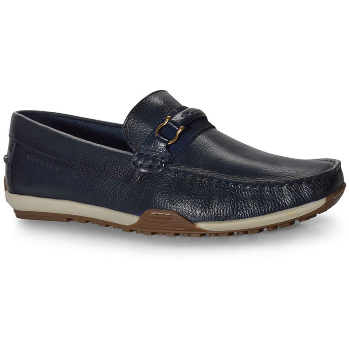 Sapato Masculino Ferricelli Mca54810 Marinho/castanho
