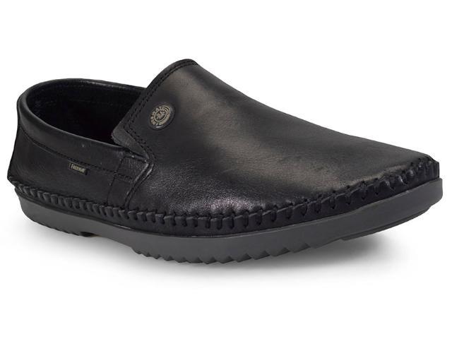 Sapato Masculino Free Way Logan-4 Turim Preto