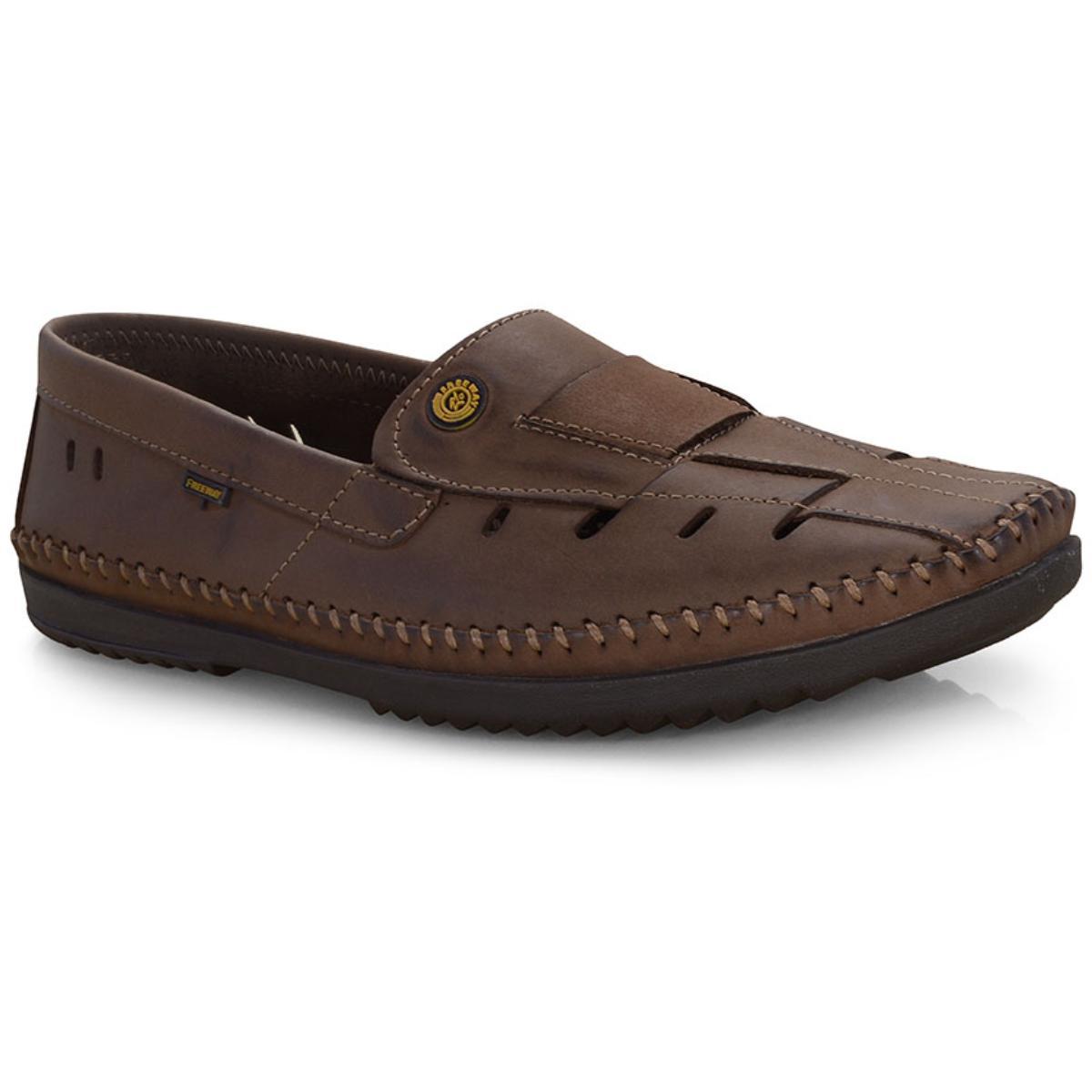 Sapato Masculino Free Way Logan-2 Wax Sesamo