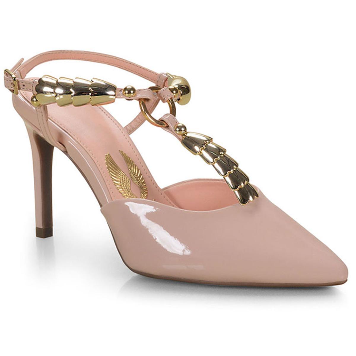 Sapato Feminino Invoice 503.5649 Nude