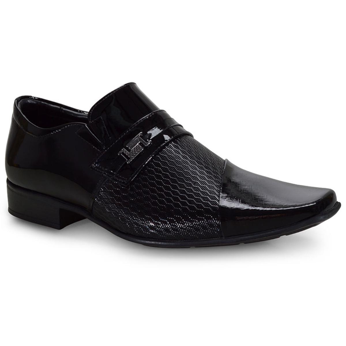 Sapato Masculino Jota pe 77715/1 Preto