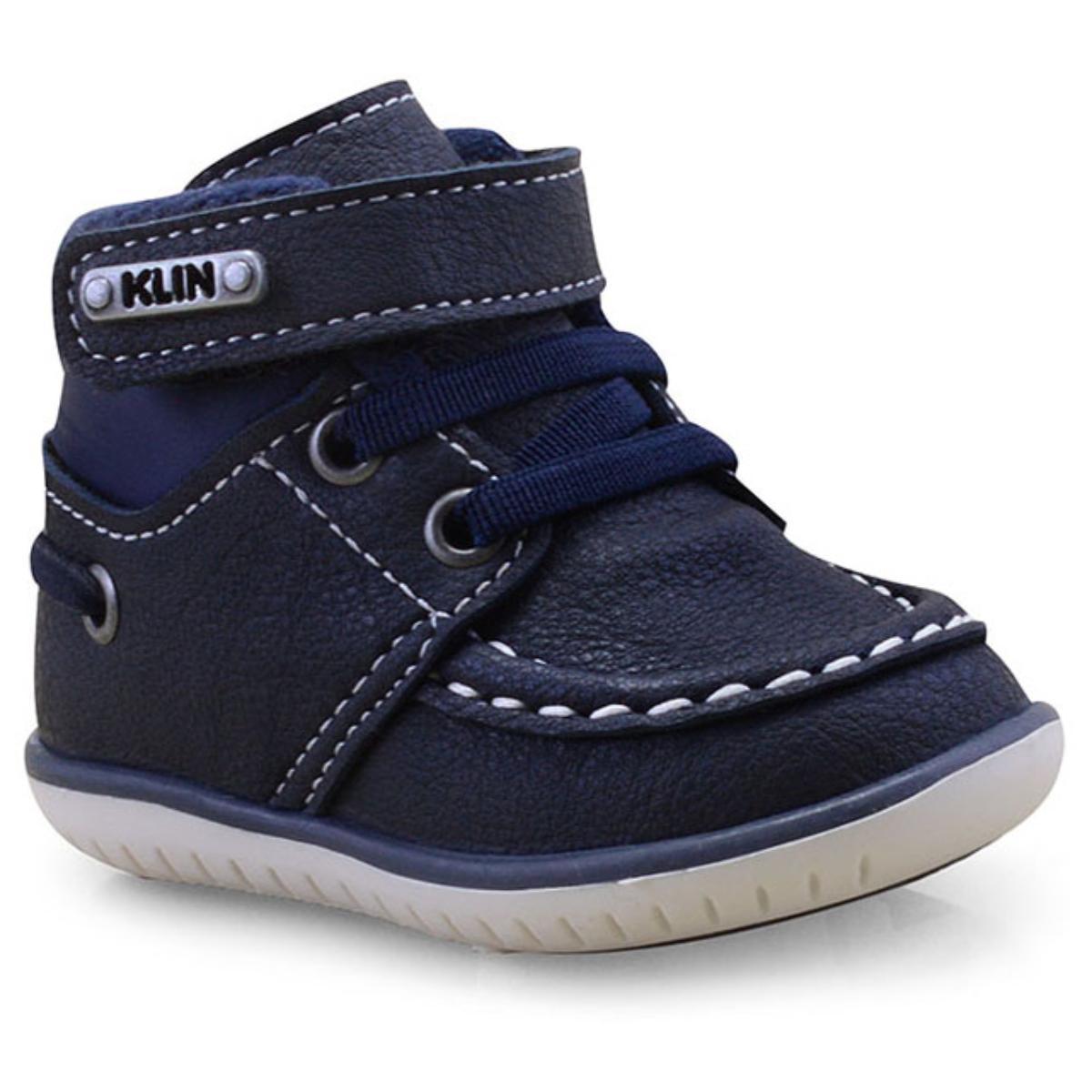 Sapato Masc Infantil Klin 166.106 Marinho
