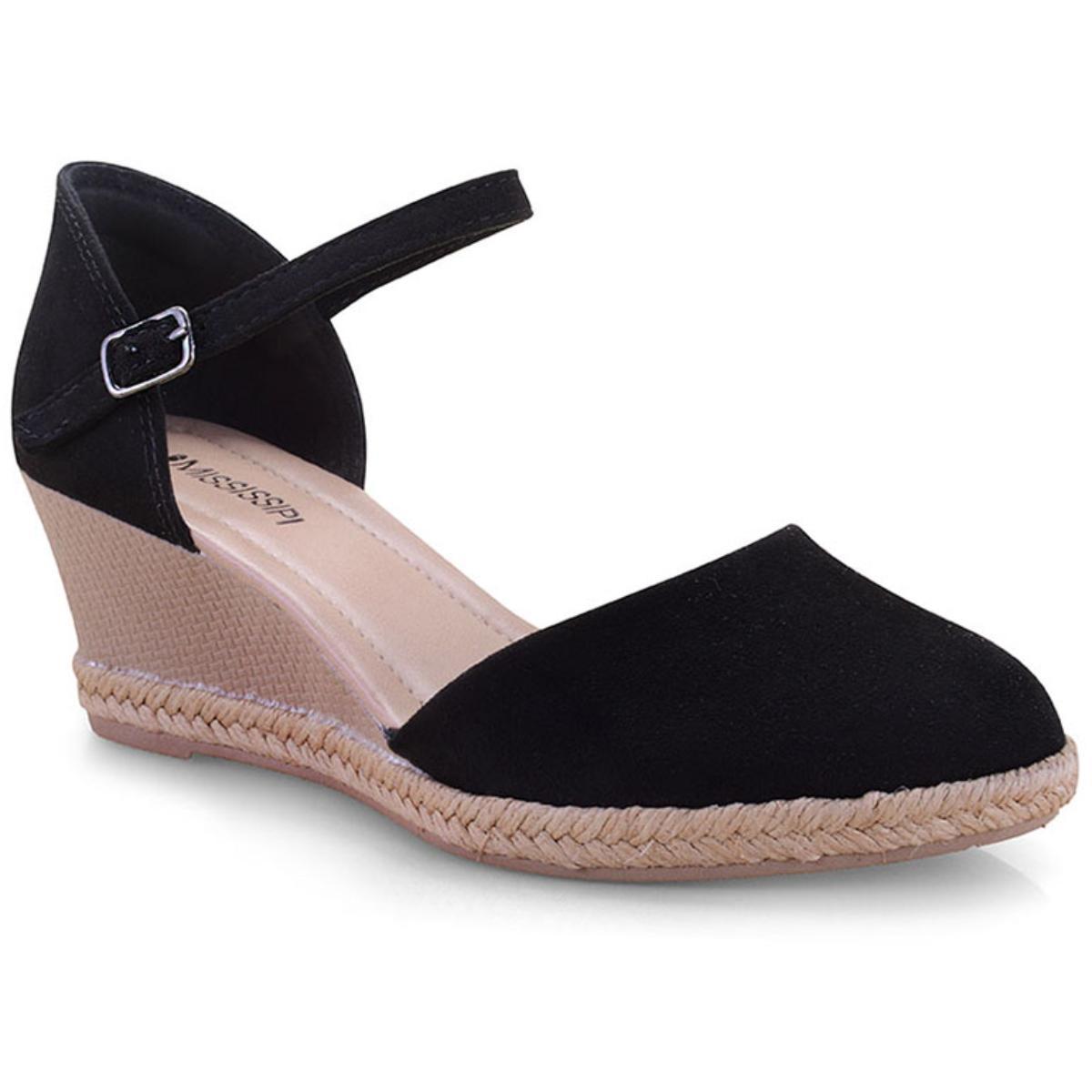 Sapato Feminino Mississipi Q0193 Preto