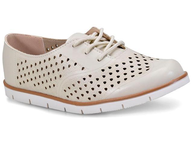 Sapato Feminino Moleca 5613317 Off White