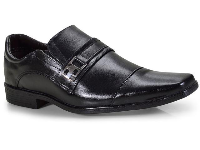 Sapato Masculino Ped Shoes 46900-a Preto