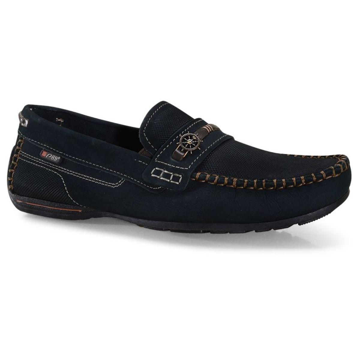 Sapato Masculino Pegada 140722-06 Marinho