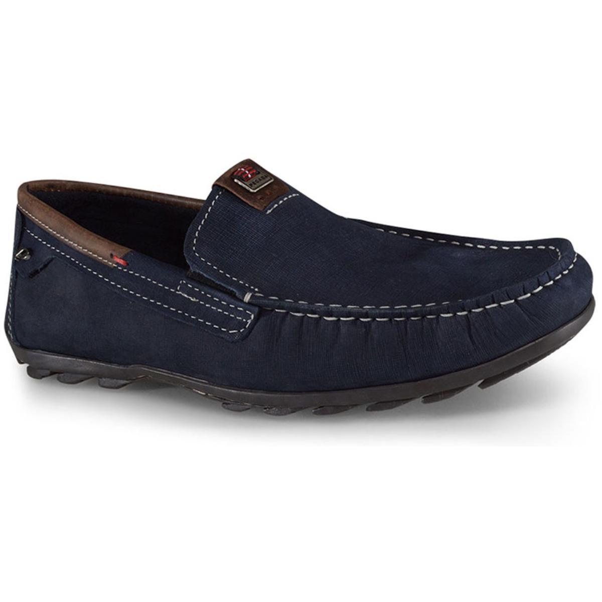 Sapato Masculino Pegada 140907-06 Blue/coffe