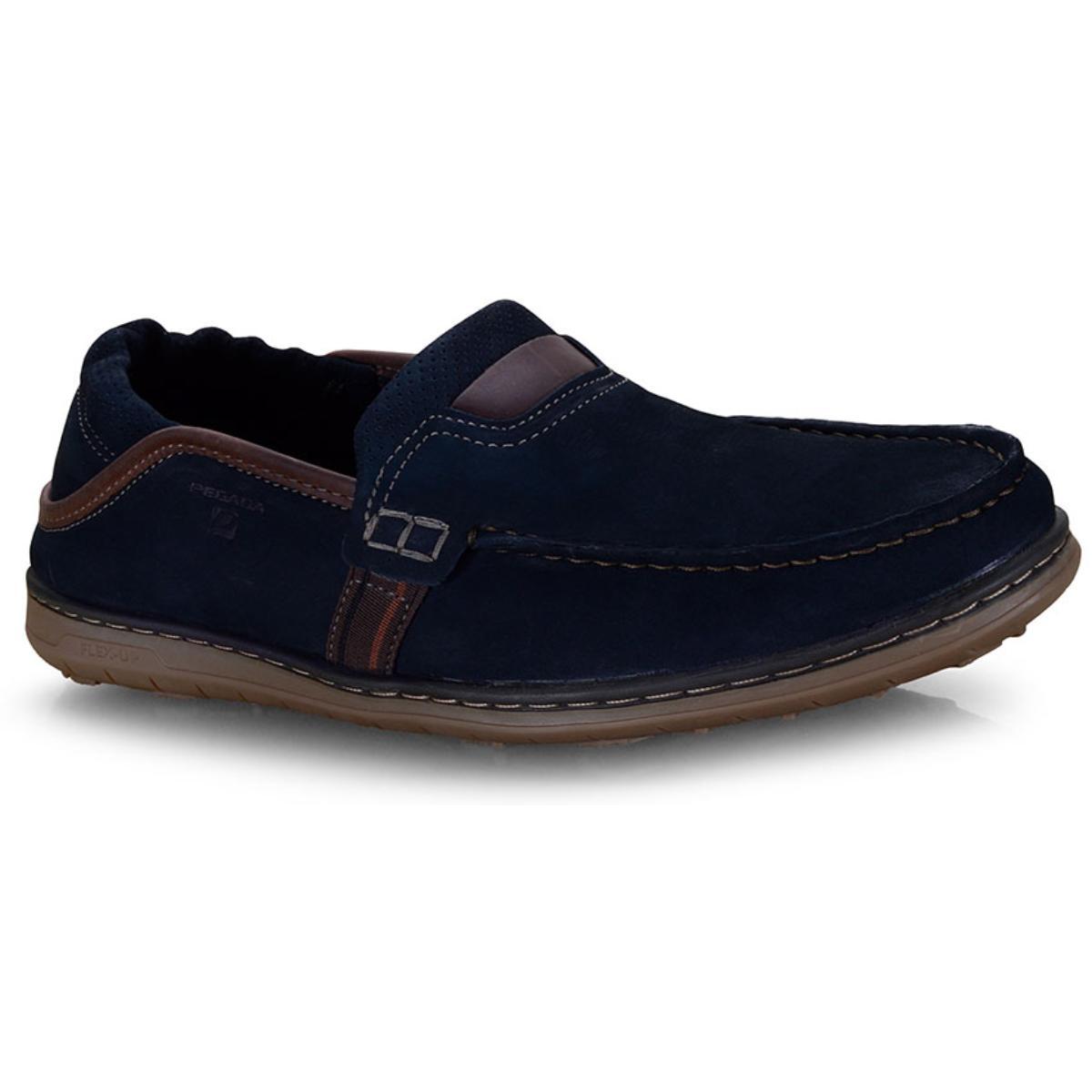 Sapato Masculino Pegada 141101-09 Marinho/coffe
