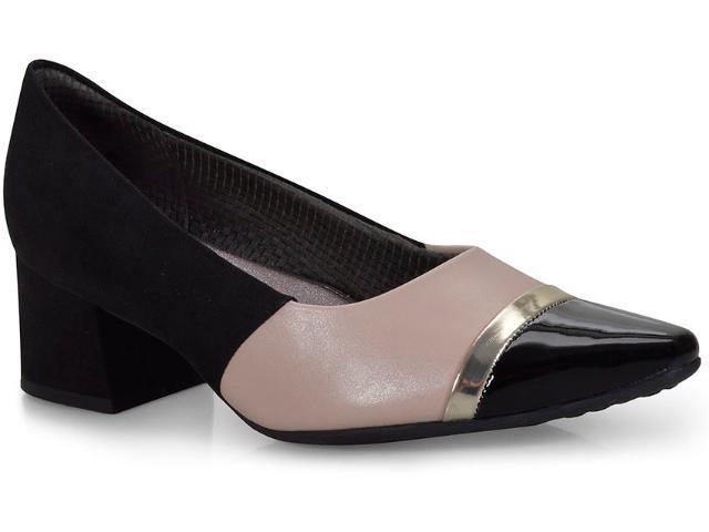 Sapato Feminino Piccadilly 744059 Preto/marfim