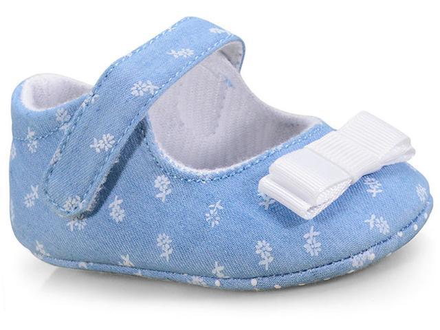 Sapato Fem Infantil Pimpolho 73579c Jeans