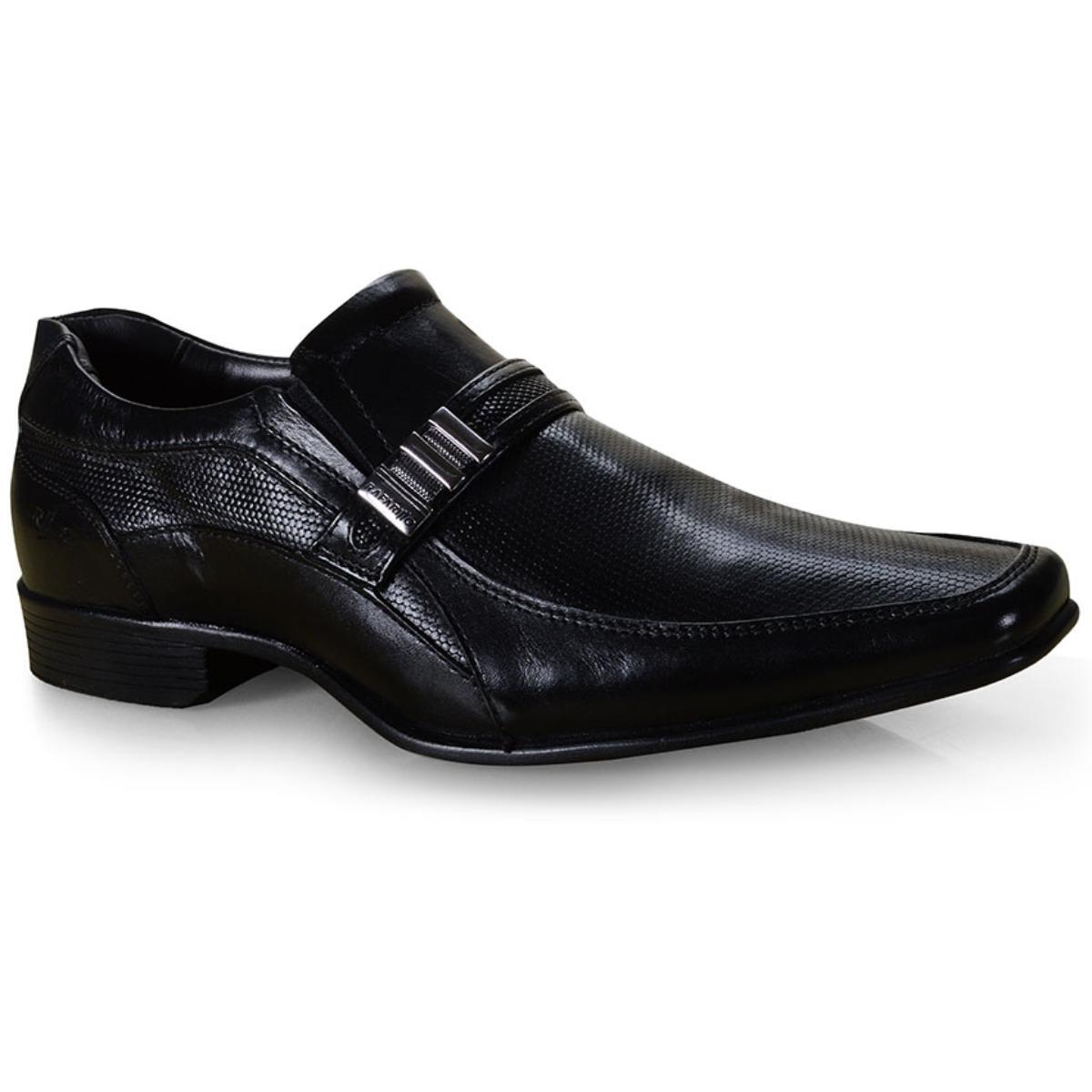 Sapato Masculino Rafarillo 34011-00p Preto Kit Cinto+meia