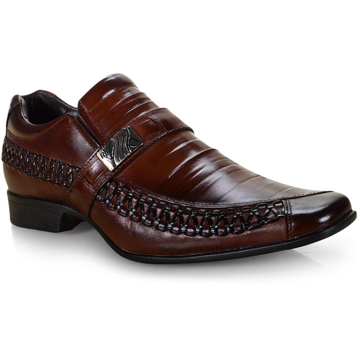 Sapato Masculino Rafarillo 79308-01 Mogno