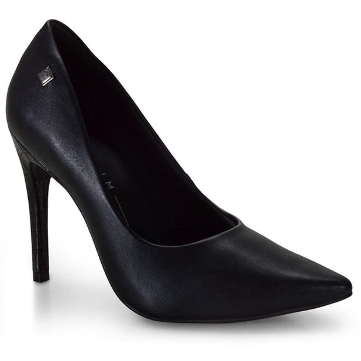 Sapato Feminino Ramarim 20-94104 Preto