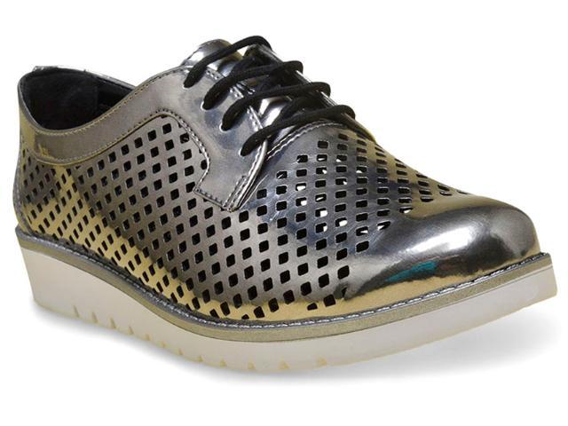 Sapato Feminino Ramarim 17-90104 Prata Velha