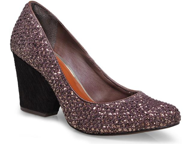 Sapato Feminino Tanara 5662 Bronze