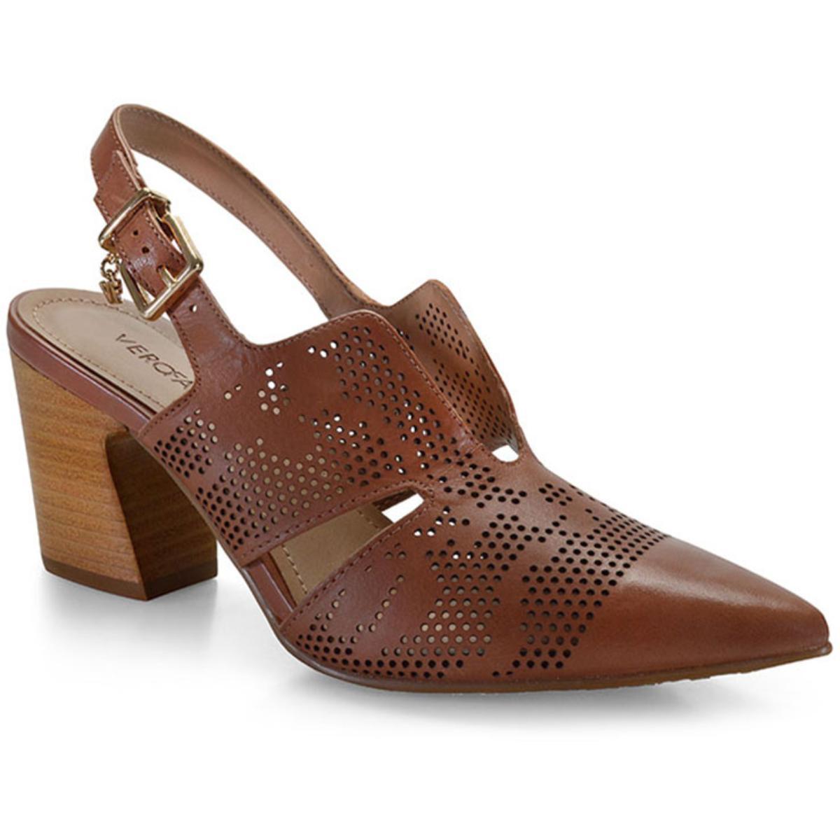 Sapato Feminino Verofatto 6014404 Cognac