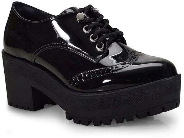 Sapato Feminino Via Marte 18-5501 Preto