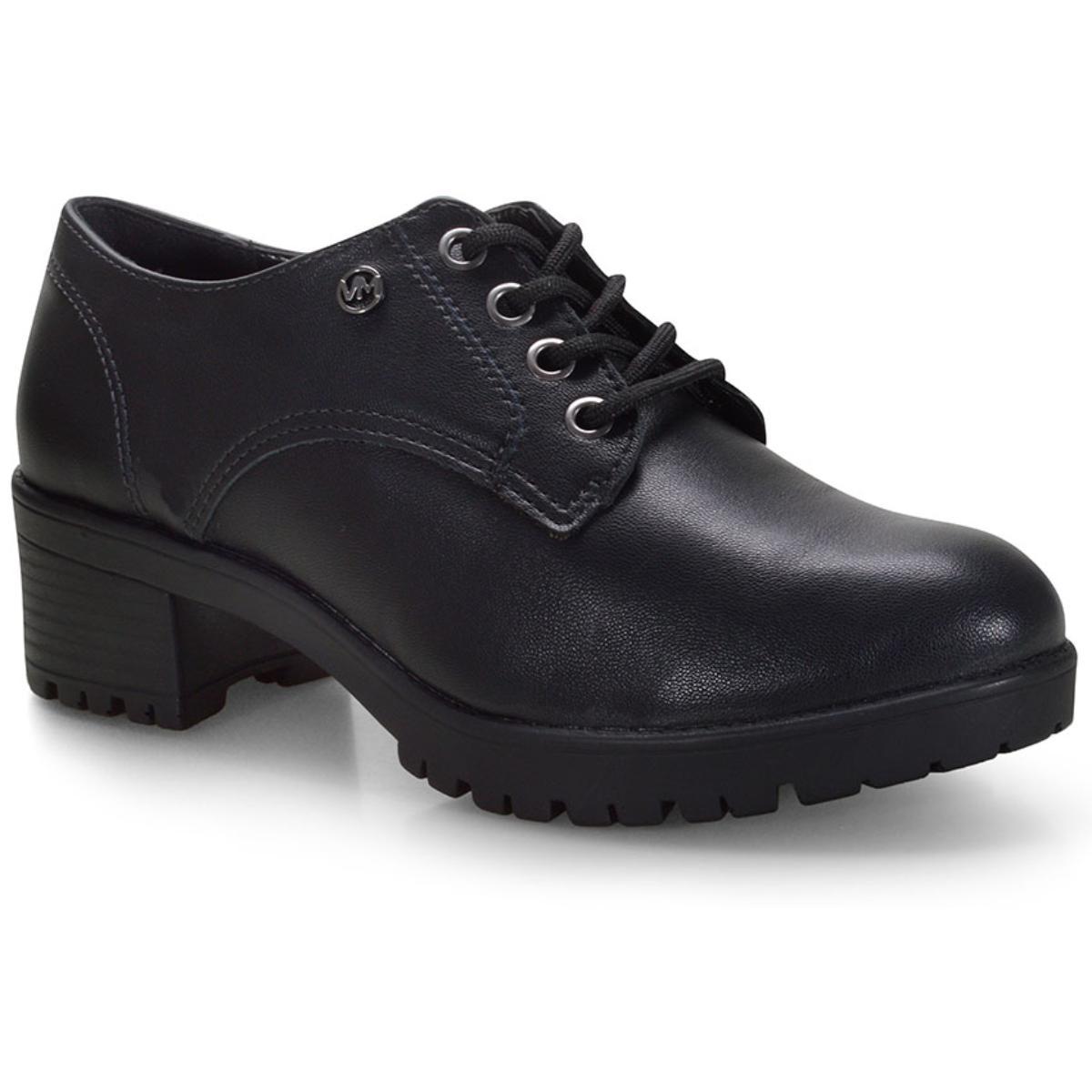 Sapato Feminino Via Marte 20-8006 Preto