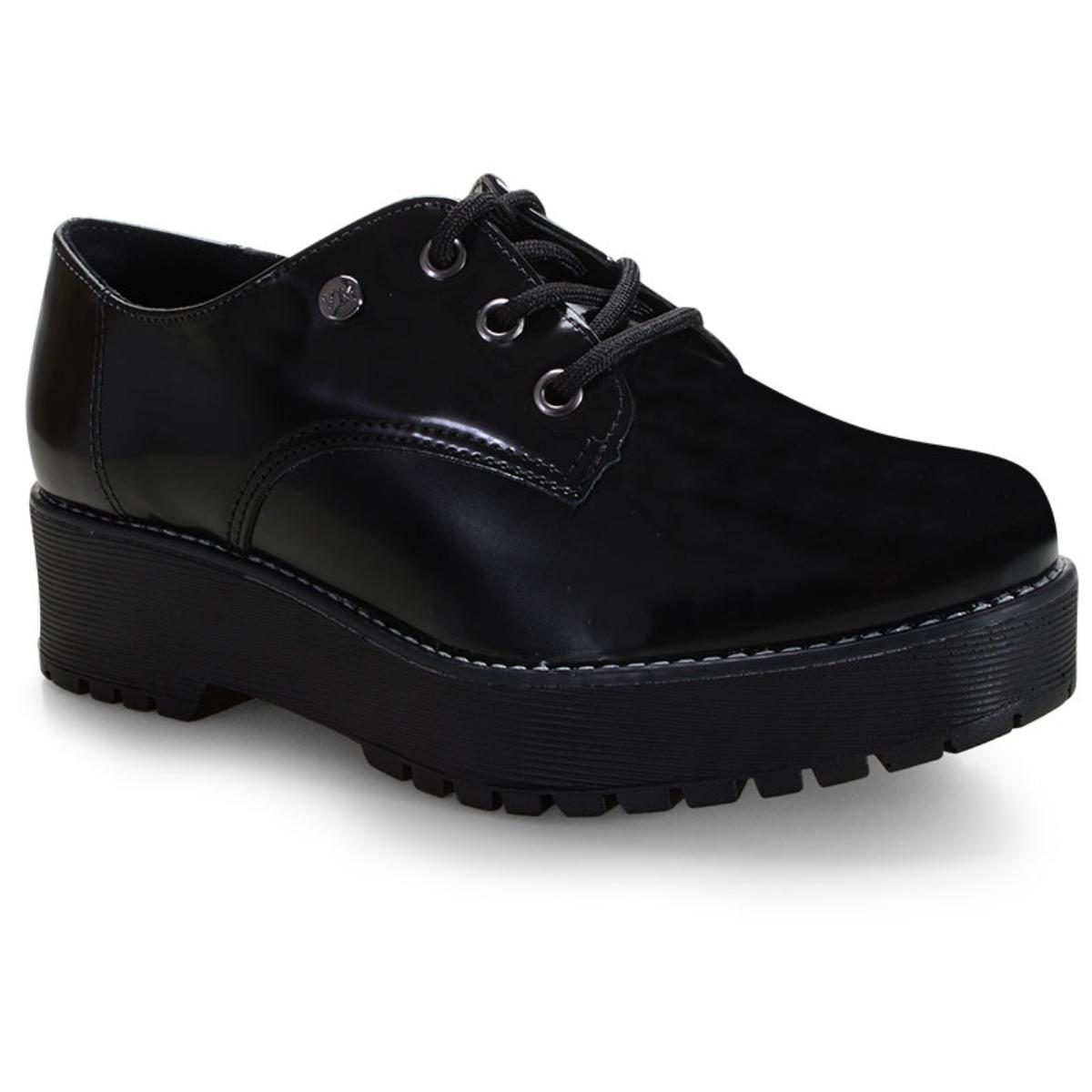 Sapato Feminino Via Marte 20-7305 Preto