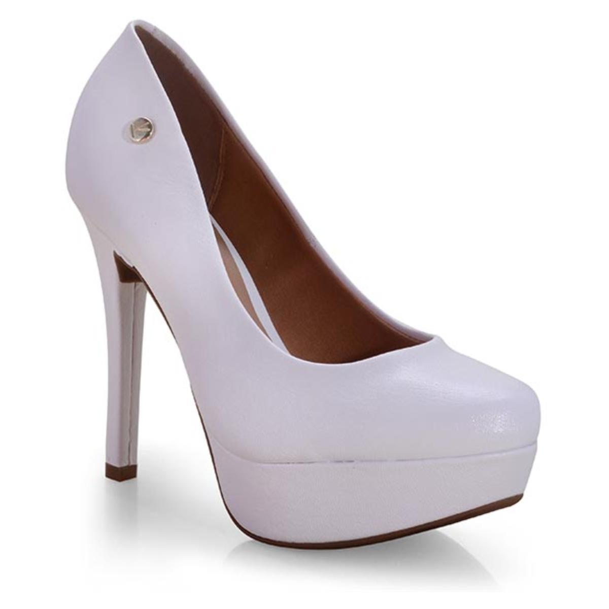 Sapato Feminino Vizzano 1830401 Branco