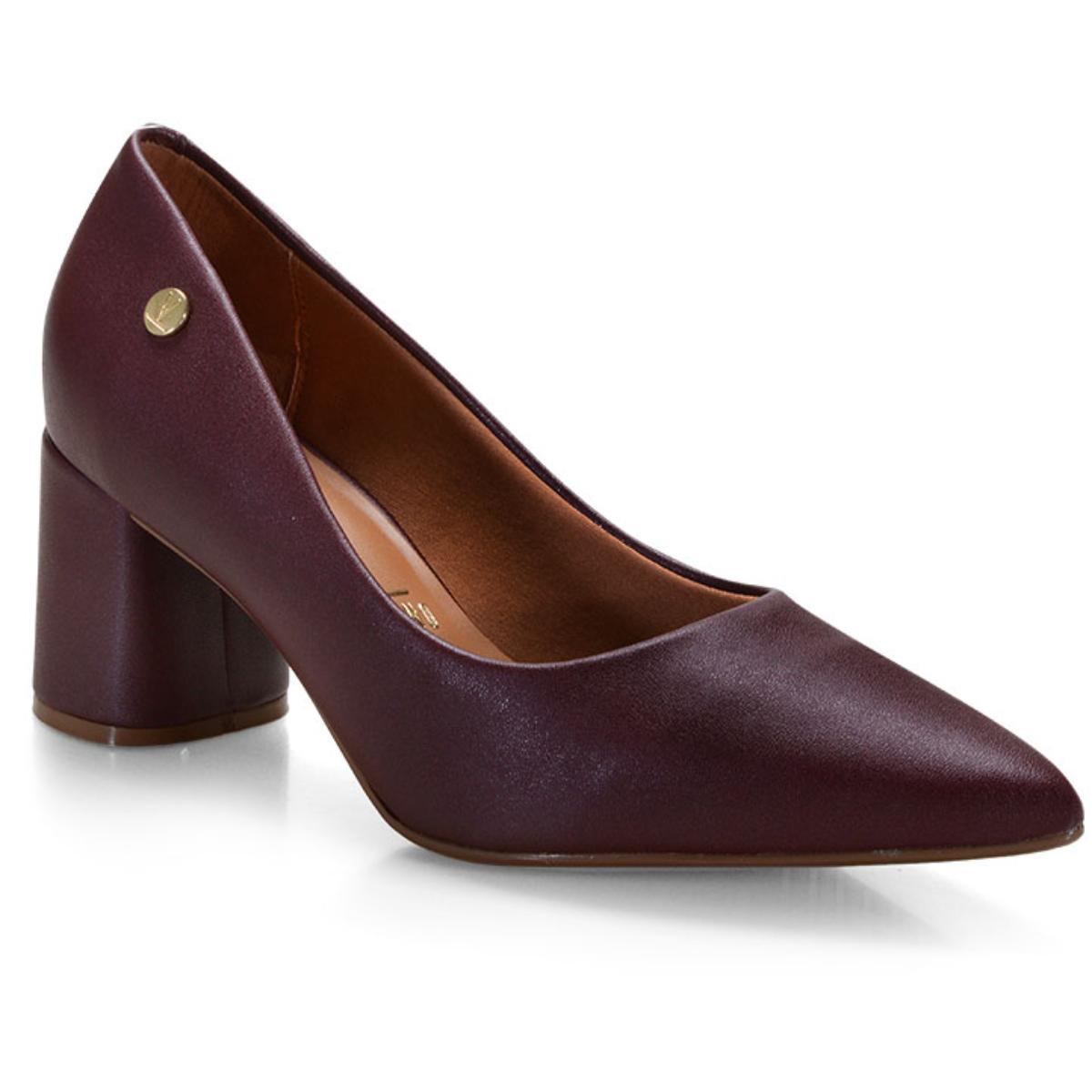 Sapato Feminino Vizzano 1342100 Vinho
