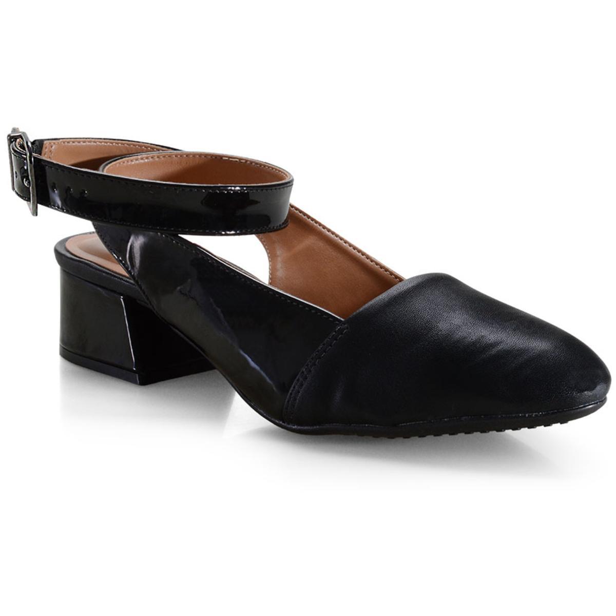 Sapato Feminino Vizzano 1346106 Preto