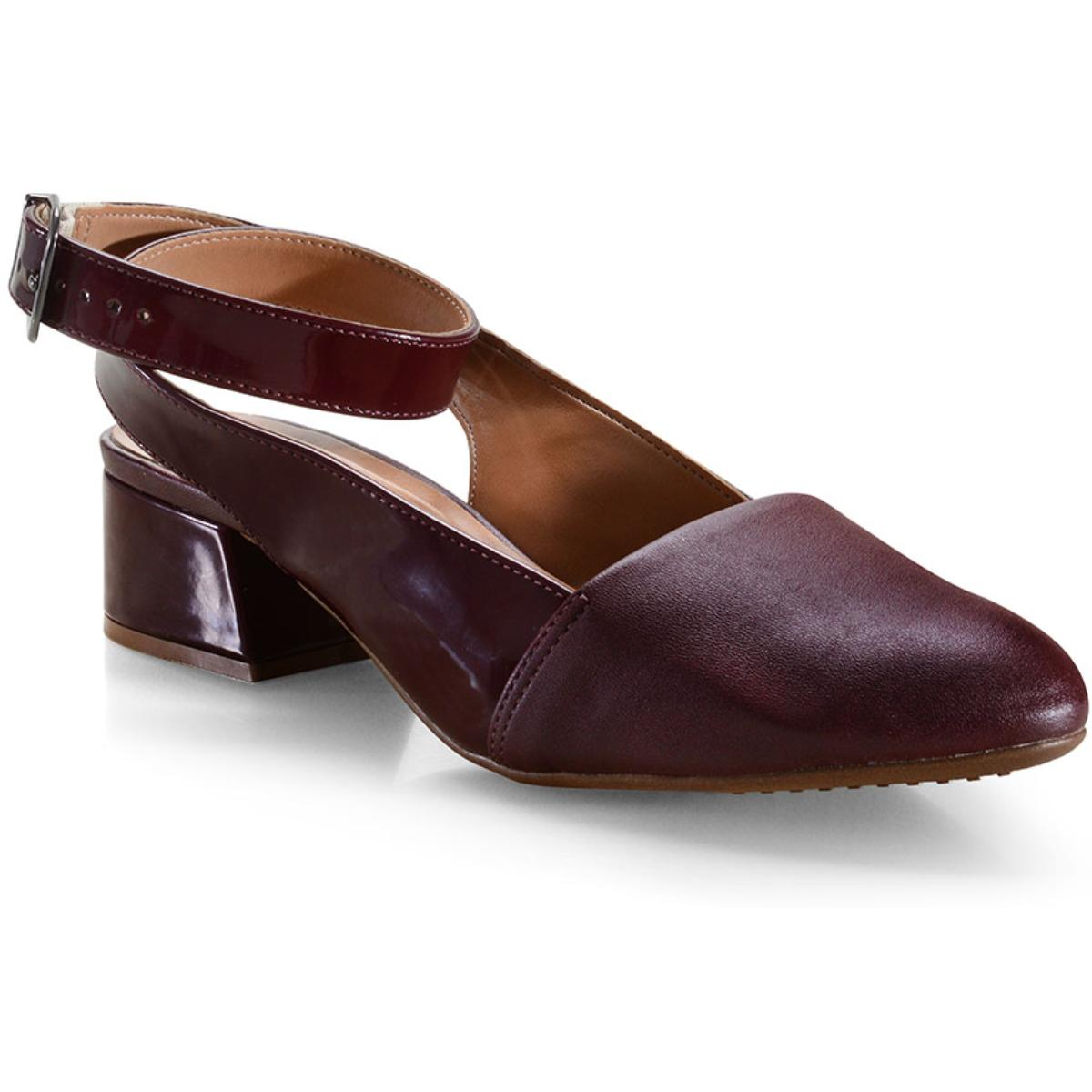 Sapato Feminino Vizzano 1346106 Vinho