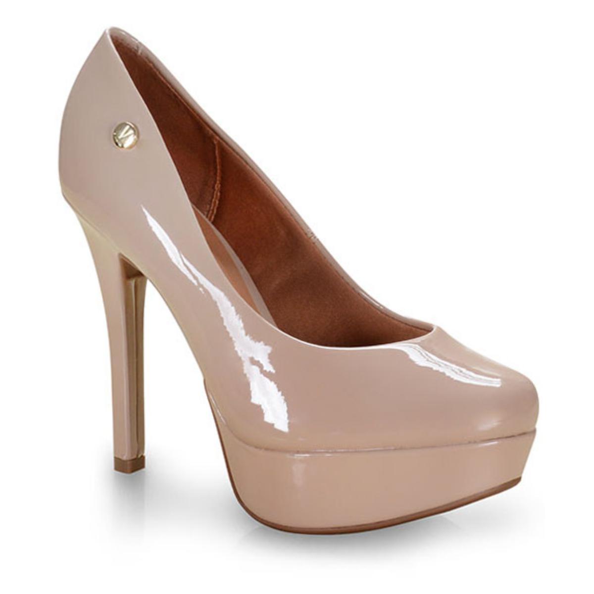 Sapato Feminino Vizzano 1830401 Bege