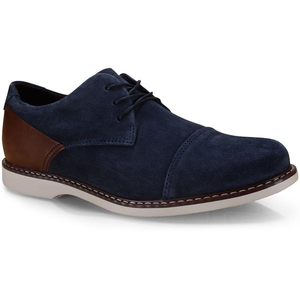 Sapato Masculino West Coast 187206/5 Marinho/conhaque