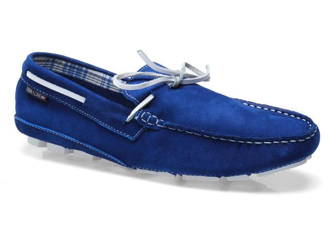 Sapato Masculino Ferracini 2541 Juquehy Azul