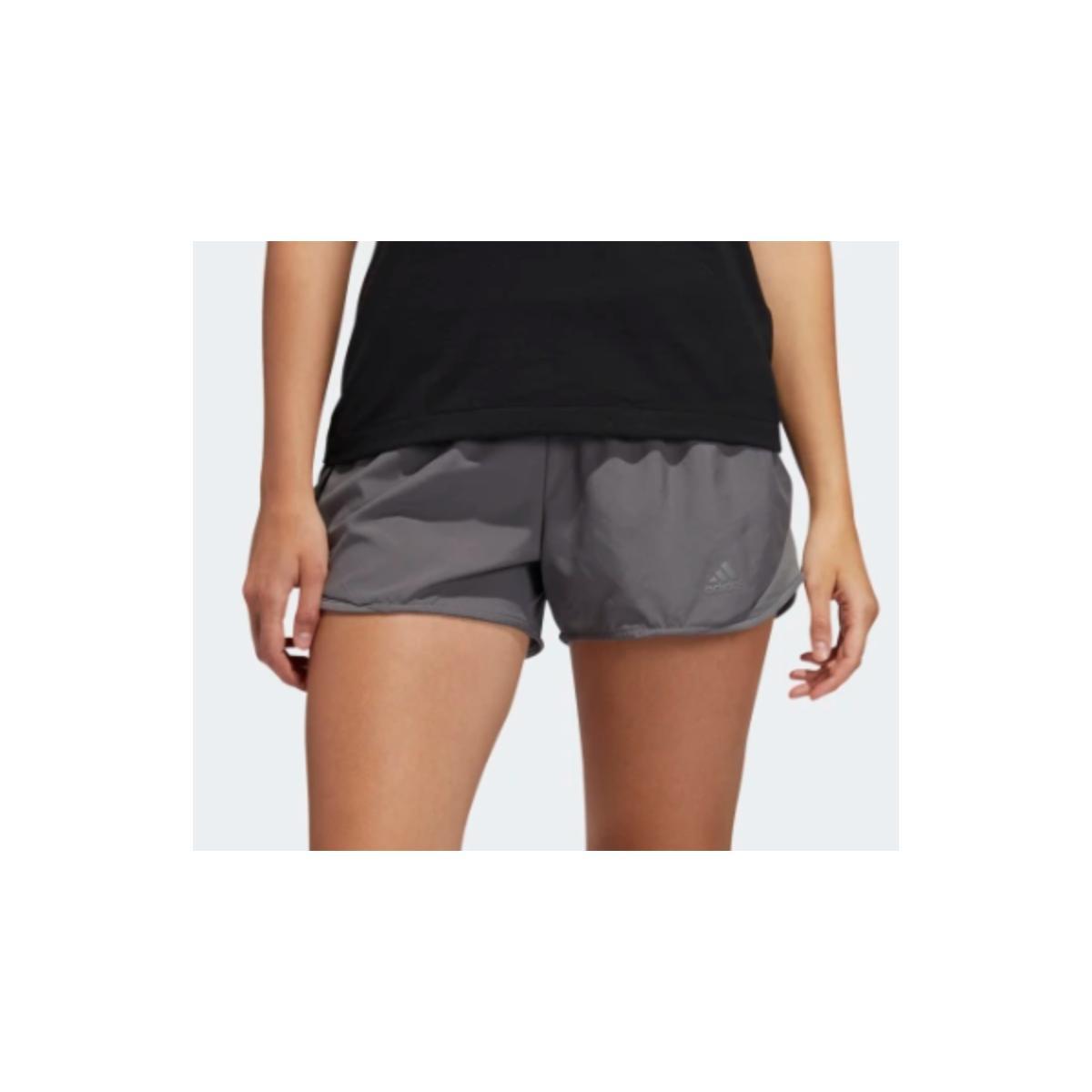 Short Feminino Adidas Dz2254 Run it w Cinza/pink