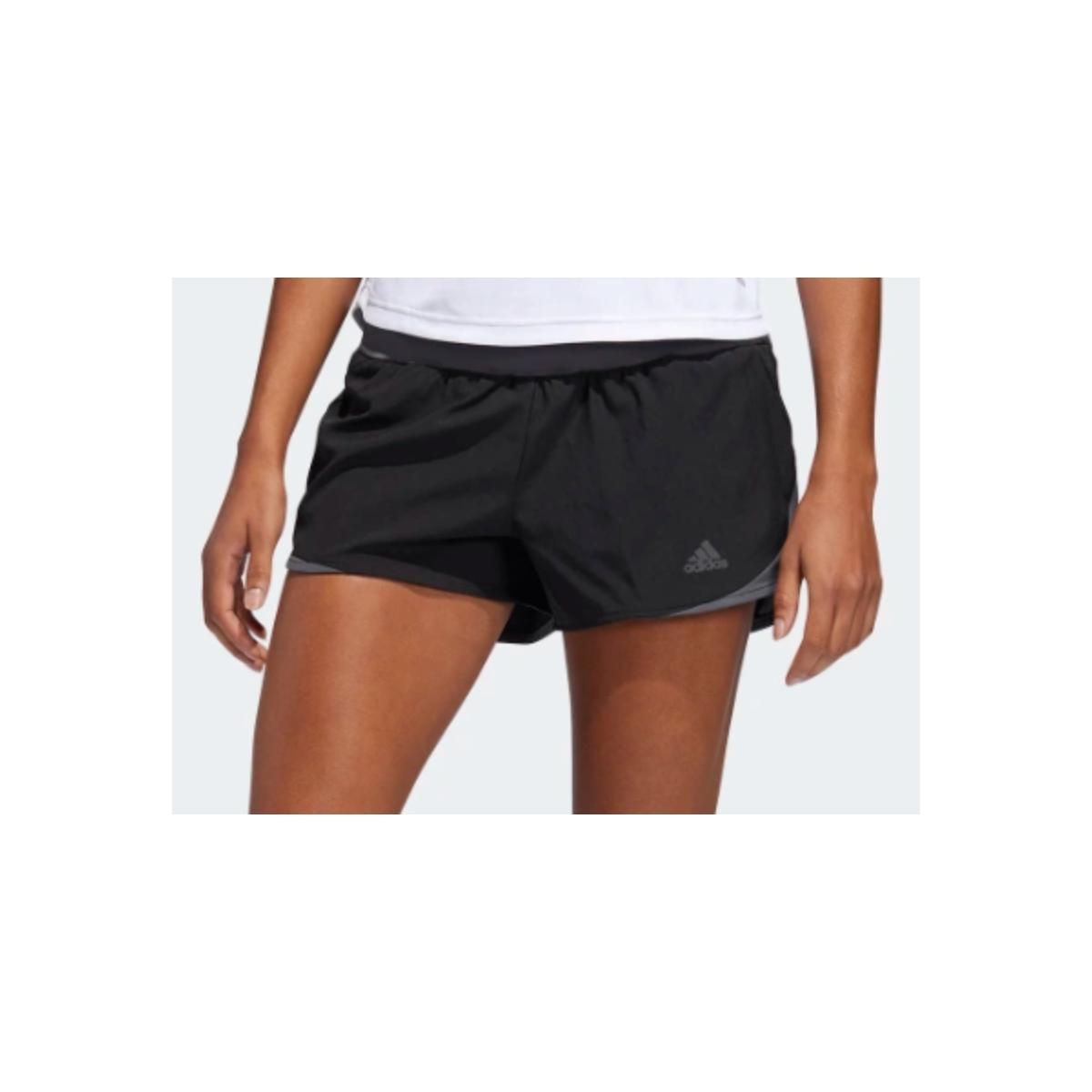 Short Feminino Adidas Dq2595 Run it w Preto