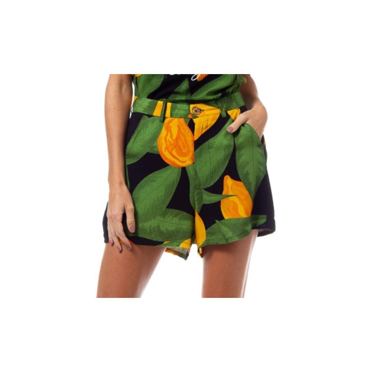 Short Feminino Coca-cola Clothing 63201486 Vb107 Preto Estampado
